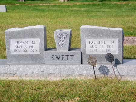 SWETT, PAULINE N. - Brown County, Nebraska   PAULINE N. SWETT - Nebraska Gravestone Photos
