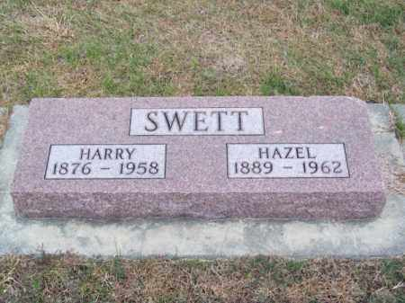 SWETT, HARRY - Brown County, Nebraska   HARRY SWETT - Nebraska Gravestone Photos