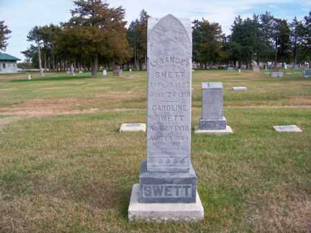 SWETT, LYSANDER - Brown County, Nebraska | LYSANDER SWETT - Nebraska Gravestone Photos