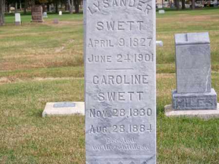 SWETT, CAROLINE - Brown County, Nebraska | CAROLINE SWETT - Nebraska Gravestone Photos