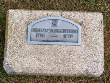 SWETT, MARY E. - Brown County, Nebraska   MARY E. SWETT - Nebraska Gravestone Photos