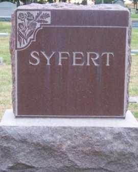 SYFERT, FAMILY - Brown County, Nebraska | FAMILY SYFERT - Nebraska Gravestone Photos