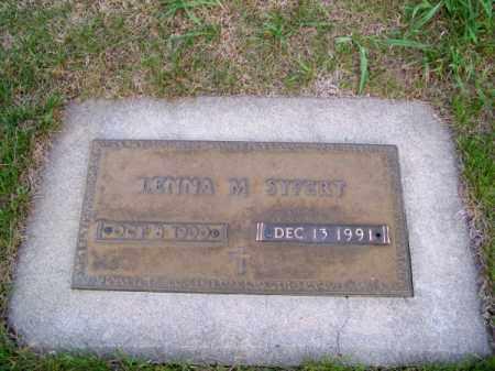 SYFERT, LENNA M. - Brown County, Nebraska   LENNA M. SYFERT - Nebraska Gravestone Photos
