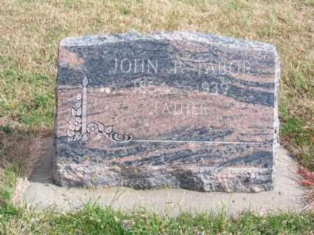 TABOR, JOHN P. - Brown County, Nebraska   JOHN P. TABOR - Nebraska Gravestone Photos