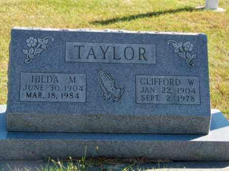TAYLOR, HILDA M. - Brown County, Nebraska | HILDA M. TAYLOR - Nebraska Gravestone Photos
