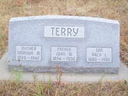 TERRY, AMANDA M. - Brown County, Nebraska | AMANDA M. TERRY - Nebraska Gravestone Photos