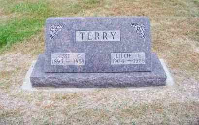 TERRY, JESSE G. - Brown County, Nebraska | JESSE G. TERRY - Nebraska Gravestone Photos