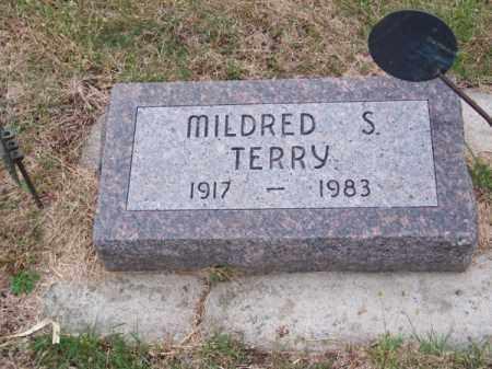TERRY, MILDRED S. - Brown County, Nebraska   MILDRED S. TERRY - Nebraska Gravestone Photos
