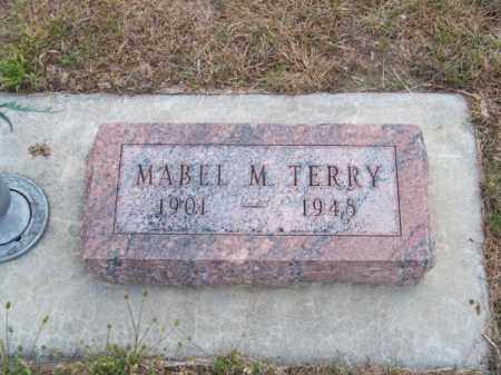 TERRY, MABEL M. - Brown County, Nebraska | MABEL M. TERRY - Nebraska Gravestone Photos