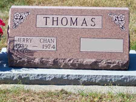 THOMAS, JERRY (CHAN) - Brown County, Nebraska | JERRY (CHAN) THOMAS - Nebraska Gravestone Photos