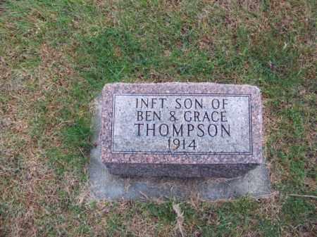 THOMPSON, INFANT SON - Brown County, Nebraska   INFANT SON THOMPSON - Nebraska Gravestone Photos