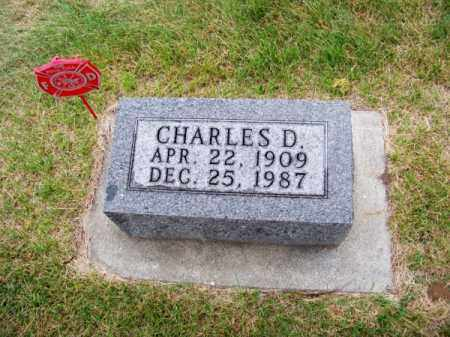 THORNTON, CHARLES D. - Brown County, Nebraska | CHARLES D. THORNTON - Nebraska Gravestone Photos