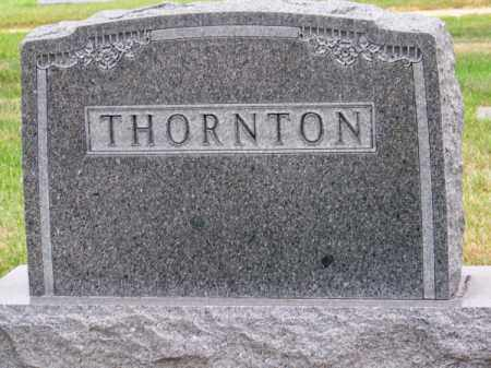 THORNTON, FAMILY - Brown County, Nebraska | FAMILY THORNTON - Nebraska Gravestone Photos