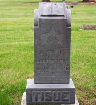 TISUE, BESSIE L. - Brown County, Nebraska | BESSIE L. TISUE - Nebraska Gravestone Photos