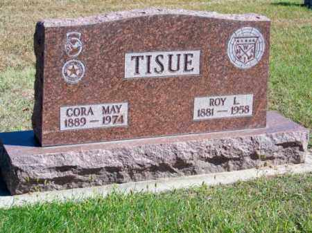 TISUE, CORA MAY - Brown County, Nebraska | CORA MAY TISUE - Nebraska Gravestone Photos