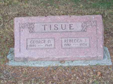 TISUE, GEORGE O. - Brown County, Nebraska | GEORGE O. TISUE - Nebraska Gravestone Photos