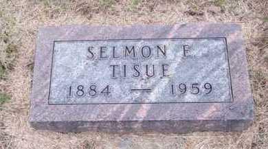 TISUE, SELMON E. - Brown County, Nebraska   SELMON E. TISUE - Nebraska Gravestone Photos