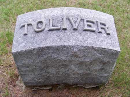 TOLIVER, FAMILY - Brown County, Nebraska | FAMILY TOLIVER - Nebraska Gravestone Photos