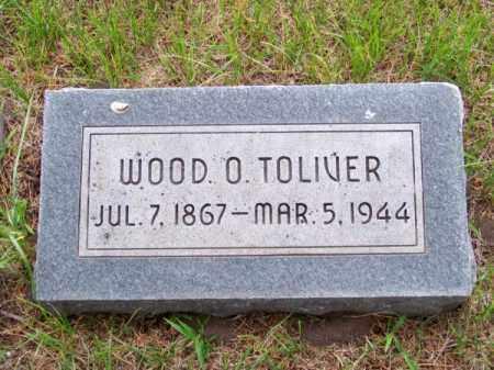 TOLIVER, WOOD O. - Brown County, Nebraska | WOOD O. TOLIVER - Nebraska Gravestone Photos
