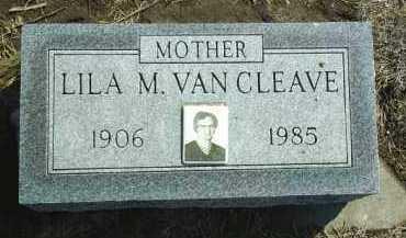 VAN CLEAVE, LILA - Brown County, Nebraska   LILA VAN CLEAVE - Nebraska Gravestone Photos