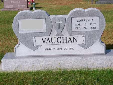 VAUGHAN, WARREN A. - Brown County, Nebraska | WARREN A. VAUGHAN - Nebraska Gravestone Photos