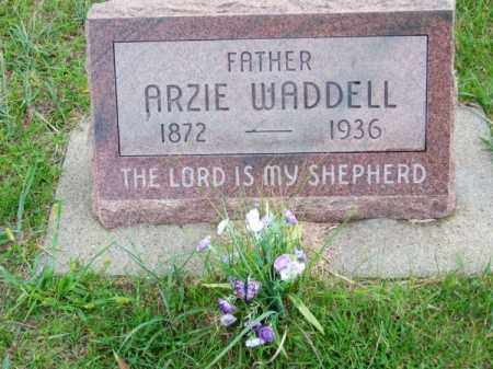 WADDELL, ARZIE - Brown County, Nebraska | ARZIE WADDELL - Nebraska Gravestone Photos