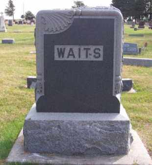 WAITS, FAMILY - Brown County, Nebraska | FAMILY WAITS - Nebraska Gravestone Photos