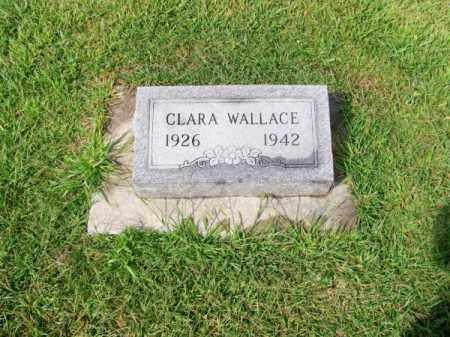 WALLACE, CLARA - Brown County, Nebraska | CLARA WALLACE - Nebraska Gravestone Photos