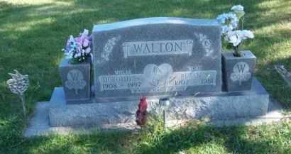 WALTON, RUBEN A. - Brown County, Nebraska | RUBEN A. WALTON - Nebraska Gravestone Photos