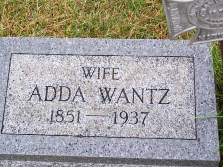 WANTZ, ADDA - Brown County, Nebraska | ADDA WANTZ - Nebraska Gravestone Photos