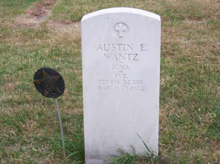 WANTZ, AUSTIN E. - Brown County, Nebraska | AUSTIN E. WANTZ - Nebraska Gravestone Photos