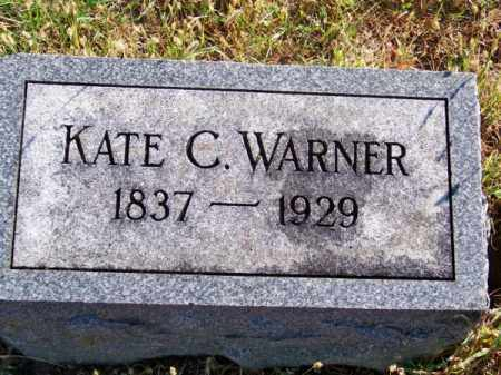 WARNER, KATE C. - Brown County, Nebraska | KATE C. WARNER - Nebraska Gravestone Photos