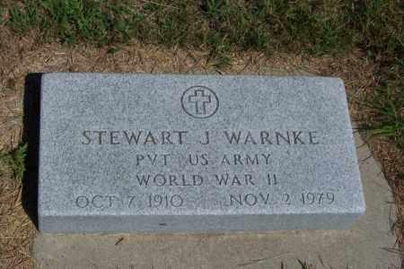 WARNKE, STEWART - Brown County, Nebraska | STEWART WARNKE - Nebraska Gravestone Photos