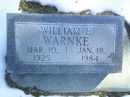 WARNKE, WILLIAM - Brown County, Nebraska   WILLIAM WARNKE - Nebraska Gravestone Photos