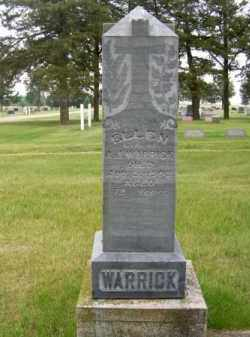 WARRICK, ELLEN - Brown County, Nebraska | ELLEN WARRICK - Nebraska Gravestone Photos