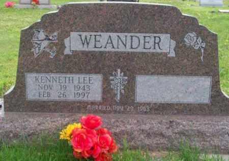 WEANDER, KENNETH LEE - Brown County, Nebraska   KENNETH LEE WEANDER - Nebraska Gravestone Photos