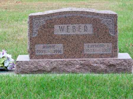 WEBER, MINNIE - Brown County, Nebraska | MINNIE WEBER - Nebraska Gravestone Photos