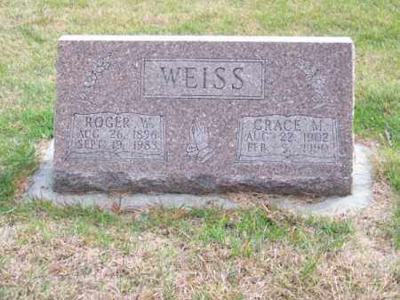 WEISS, GRACE M. - Brown County, Nebraska | GRACE M. WEISS - Nebraska Gravestone Photos