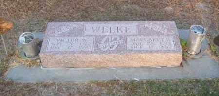WELKE, MARGARET B. - Brown County, Nebraska | MARGARET B. WELKE - Nebraska Gravestone Photos