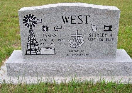 WEST, JAMES L. - Brown County, Nebraska   JAMES L. WEST - Nebraska Gravestone Photos