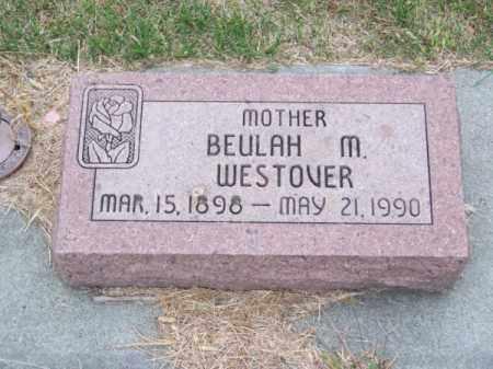 WESTOVER, BEULAH M. - Brown County, Nebraska | BEULAH M. WESTOVER - Nebraska Gravestone Photos