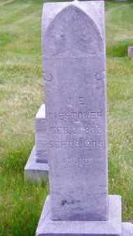 WESTOVER, J. E. - Brown County, Nebraska   J. E. WESTOVER - Nebraska Gravestone Photos