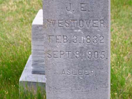 WESTOVER, J. E. - Brown County, Nebraska | J. E. WESTOVER - Nebraska Gravestone Photos