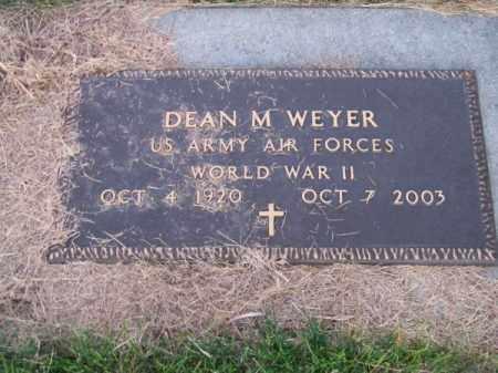 WEYER, DEAN M. - Brown County, Nebraska   DEAN M. WEYER - Nebraska Gravestone Photos