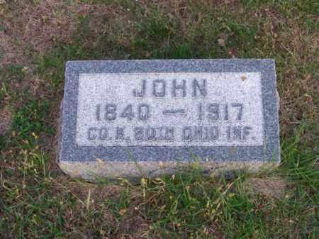 WEYER, JOHN - Brown County, Nebraska | JOHN WEYER - Nebraska Gravestone Photos
