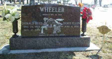 WHEELER, DONALD - Brown County, Nebraska | DONALD WHEELER - Nebraska Gravestone Photos