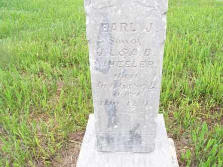 WHEELER, EARL J. - Brown County, Nebraska   EARL J. WHEELER - Nebraska Gravestone Photos