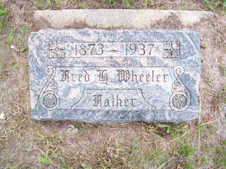 WHEELER, FRED H. - Brown County, Nebraska | FRED H. WHEELER - Nebraska Gravestone Photos