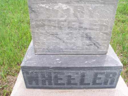 WHEELER, MARY - Brown County, Nebraska   MARY WHEELER - Nebraska Gravestone Photos