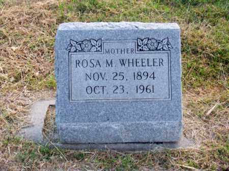 WHEELER, ROSA M. - Brown County, Nebraska | ROSA M. WHEELER - Nebraska Gravestone Photos